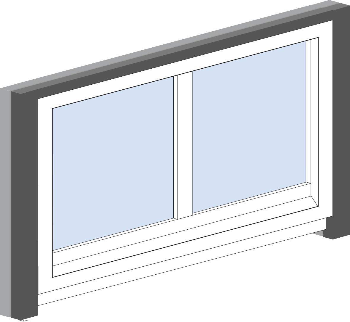 ottotape trio ral kompriband ral montage mit einem kompriband. Black Bedroom Furniture Sets. Home Design Ideas