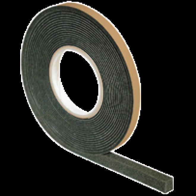 4 Rollen Kompriband 15//3 anthrazit 10,0 m Vorlegeband Abdichtband Fugenband