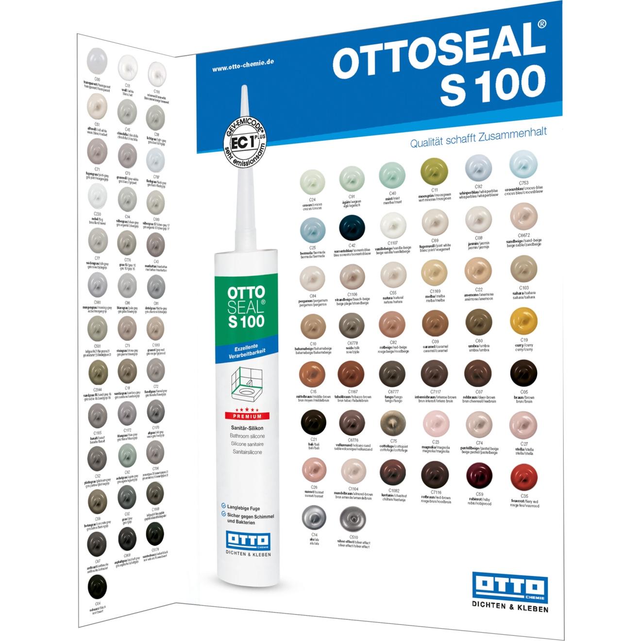 Farbkarte Ottoseal S100 Sanitärsilikon Online Bestellen