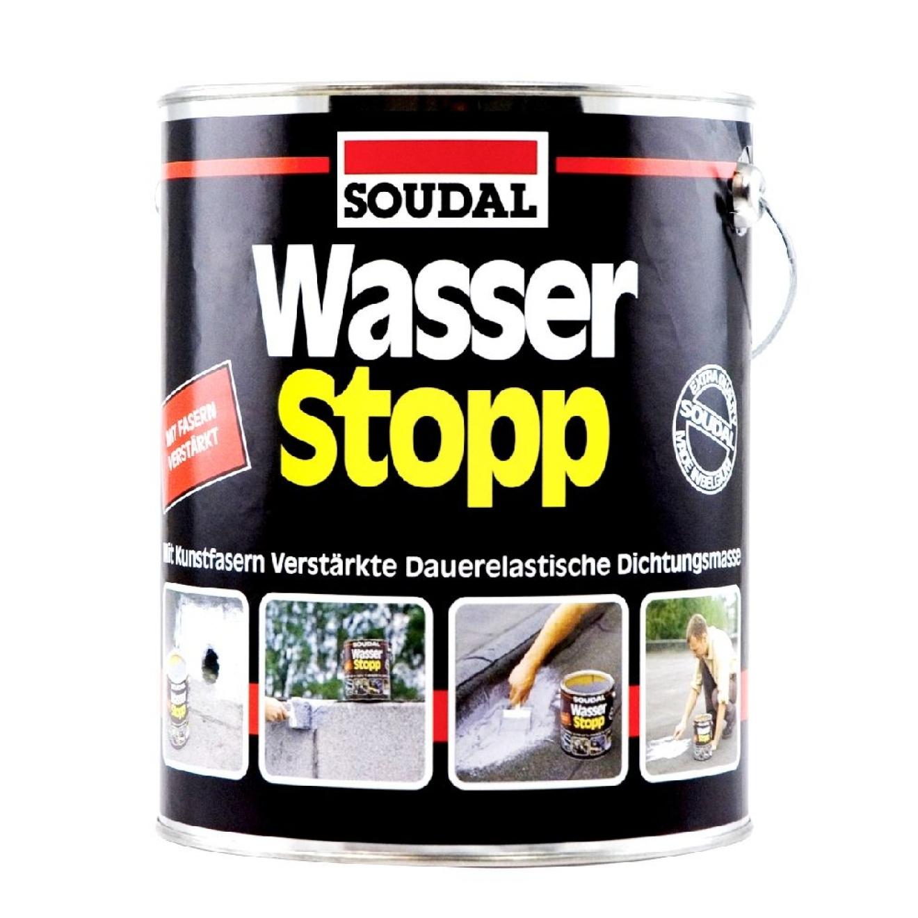 soudal wasser stopp zum ausbesserung und renovierung von. Black Bedroom Furniture Sets. Home Design Ideas